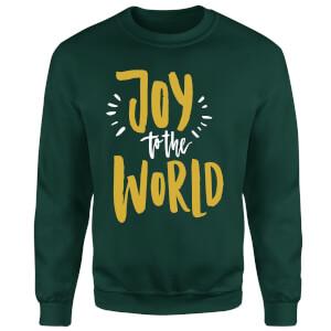 Joy to the World Sweatshirt - Forest Green