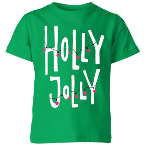 Holly Jolly Kids' T-Shirt - Kelly Green