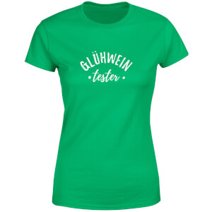 Gluhwein Tester Women's T-Shirt - Kelly Green