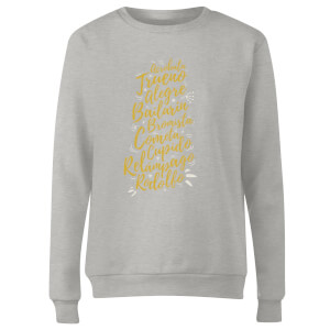 International Reindeer Women's Sweatshirt - Grey