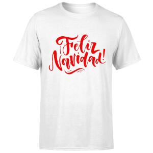 Feliz Navidad T-Shirt - White