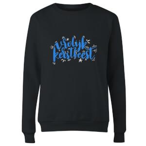 Kerstfeest Women's Sweatshirt - Black
