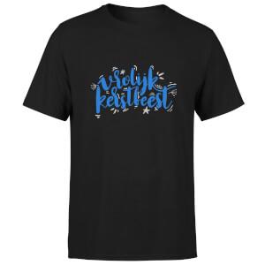Kerstfeest T-Shirt - Black