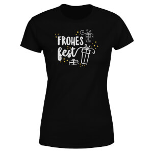 Frohes Fest Women's T-Shirt - Black