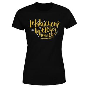 International Lebkiuchen Women's T-Shirt - Black