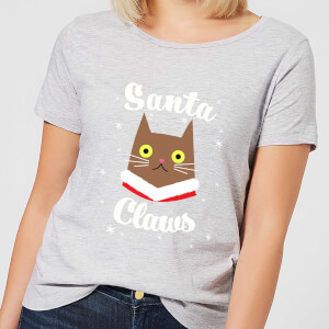 Santa Claws Women's T-Shirt - Grey