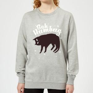 Bah Humbug Frauen Sweatshirt - Grau