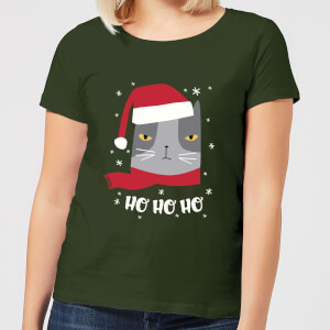 Ho Ho Ho Women's T-Shirt - Forest Green