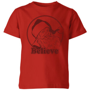 Believe Red Kids' T-Shirt - Red