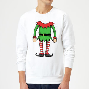 Elf Sweatshirt - White
