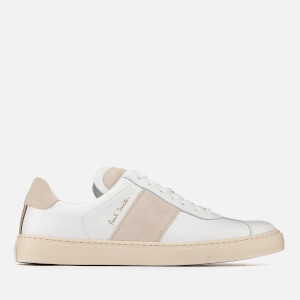 Paul Smith Men's Levon Leather Tennis Trainers - White