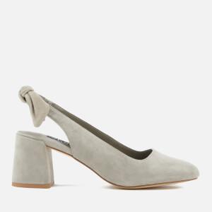 Senso Women's Iliana II Suede Sling Back Block Heels - Dove