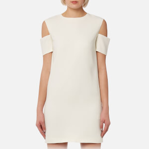 Helmut Lang Women's Arm Cuff Dress - Ivory