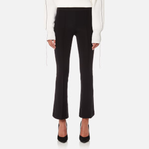 Helmut Lang Women's Cropped Flare Leggings - Black