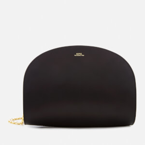 A.P.C. Women's Luna Bag with Gold Chain - Black