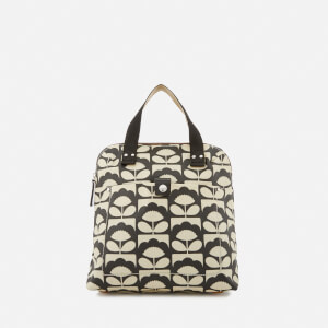 Orla Kiely Women's Small Backpack Tote Bag - Charcoal