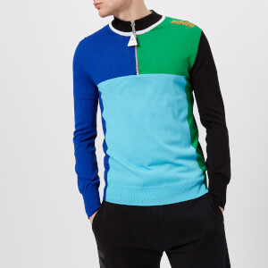 KENZO Men's Cycling Colour Block Knitted Jumper - Multi