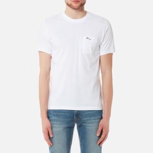 KENZO Men's Small Signature T-Shirt - White