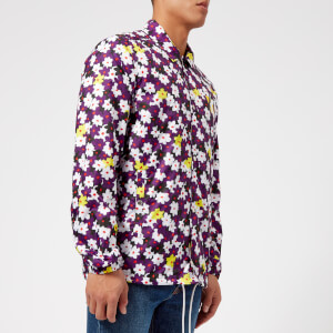 KENZO Men's Floral Coach Jacket - Multi