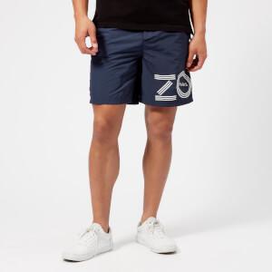 KENZO Men's Swim Shorts - Navy Blue