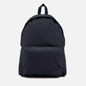 Armani Exchange Men's AX All Over Logo Rucksack - Navy