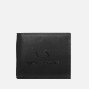 Armani Exchange Men's Bifold Wallet - Black/Black