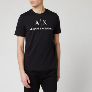 Armani Exchange Men's Classic Logo T-Shirt - Black