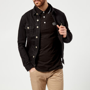 Armani Exchange Men's Denim Jacket - Black