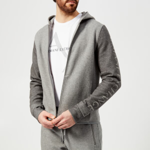 Armani Exchange Men's Zipped Hoody - Grey