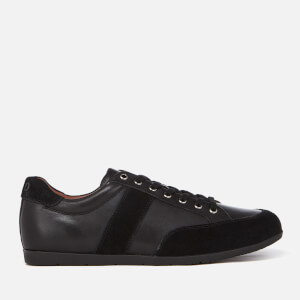 Polo Ralph Lauren Men's Price Nappa/Suede Low Profile Trainers - Black