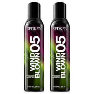 Duo de Spray Finalizador Wind Blown Dry da Redken (2 x 250 ml)
