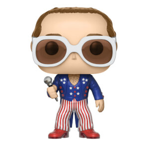 Figurine Pop! Rocks Elton John Bleu Blanc Rouge