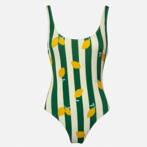 Solid & Striped Women's The Anne-Marie Swimsuit - Lemons
