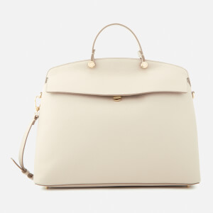 Furla Women's My Piper Large Top Handle Bag - Beige