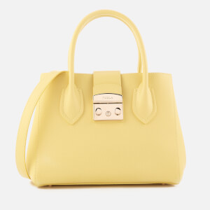 Furla Women's Metropolos Small Tote Bag - Yellow