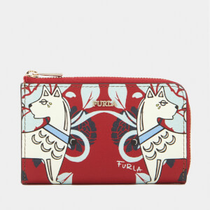 Furla Women's Babylon Small Coin Case - Red