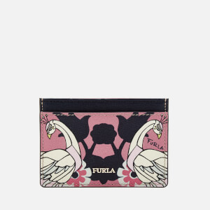 Furla Women's Babylon Small Credit Card Case - Print