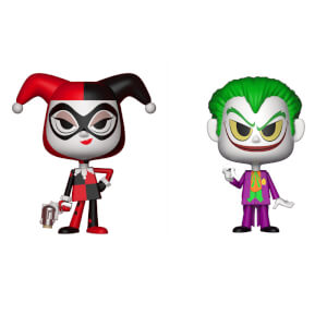 Harley Quinn and The Joker Funko Vynl.