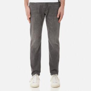 Emporio Armani Men's J06 5 Pocket Slim Jeans - Washed Black