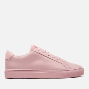 Kurt Geiger London Women's Lane Leather Cupsole Trainers - Pink