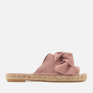 Carvela Women's Kurry Suede Espadrille Mules - Pink