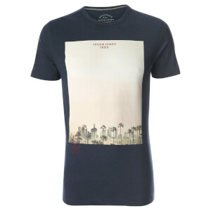 T-Shirt Homme Originals Omega Jack & Jones - Bleu Marine