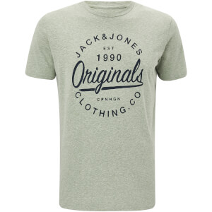 T-Shirt Homme Originals Breezes Jack & Jones - Vert Iceberg