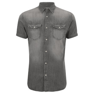 Jack & Jones Men's Originals Sheridan Denim Shirt - Light Grey Denim