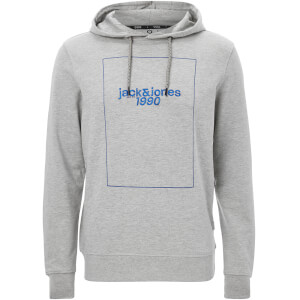 Sweat à Capuche Homme Core Pretoria Jack & Jones - Gris Chiné