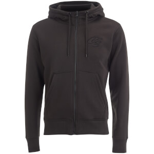 Crosshatch Men's Brombin Zip Through Hoody - Black