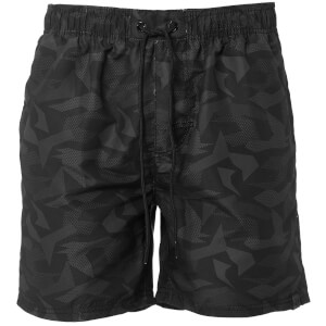 Dissident Men's Rico Swim Shorts - Grey Camo