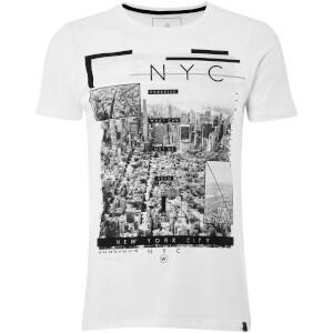 Dissident Men's NY High T-Shirt - Optic White