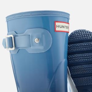 Hunter Women's Original Short Colour Haze Wellies - Tarp Blue/Blue Sky: Image 4