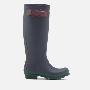 Hunter Women's Original Contrast Tall Wellies - Midnight Blue